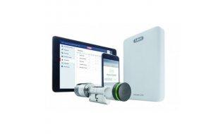 ABUS wAppLoxx Starter Kit SE complete startset voor toegangscontrole met controller en cilinderslot