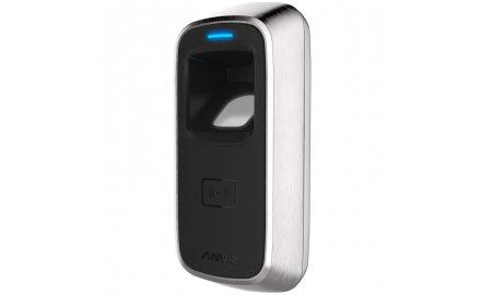 Anviz M5 Pro biometrisch vandaalbestendige vingerafdruk en kaart lezer voor buiten of binnen TCP/IP met ingebouwd relais