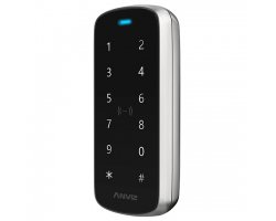 Anviz M3 vandal proof keypad and RFID + MIFARE card reader for outdoor or indoor use TCP/IP