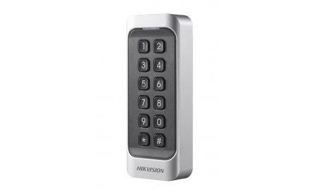Hikvision DS-K1107MK Mifare kaart lezer en keypad voor buiten