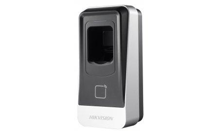 Hikvision DS-K1201EF vingerafdruk en RFID kaart lezer voor buiten