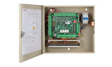 Hikvision DS-K2604 netwerk access controller voor 4 deuren, 8 RS-485 en 4 Wiegand lezers