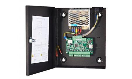 Hikvision DS-K2801 netwerk access controller voor 1 deur en 2 Wiegand lezers