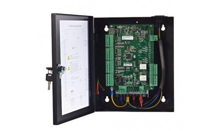 Hikvision DS-K2802 netwerk access controller voor 2 deuren en 4 Wiegand lezers