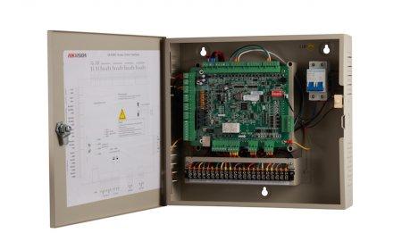 Safire SF-AC2203-WRIP netwerk access controller voor 2 deuren, 4 RS-485 en 4 Wiegand lezers