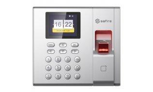 Safire SF-AC3003KEMD-IP stand alone IP vingerafdruk, kaartlezer en PIN toegang terminal voor binnen met display