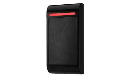 WL4 RPRO-2 stand alone toegangscontrole RFID kaartlezer met kunststof behuizing en geschikt voor binnen, Wiegand 26, relais