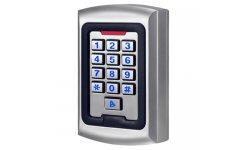 WL4 KPRO-2 stand alone toegangscontrole keypad, RFID kaartlezer, verlichting en deurbel geschikt voor binnen