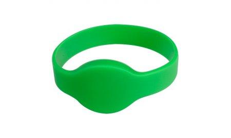 WL4 RFID B-G siliconen armband groen (10 stuks)