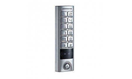 YLI YK-1168A stand alone toegangscontrole keypad, RFID kaartlezer, verlichting en deurbel geschikt voor buiten