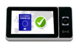 ZKTeco ZPad Plus 4G QR Coronapas lezer stand alone met Android OS en WiFi voor CoronaCheck-app of QR print