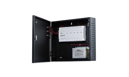 ZKTeco inBIO-260 PRO BOX 2 deur biometrische access controller TCP/IP, Wiegand, RS485 met metalen voedingskast