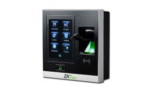 ZKTeco SF420 stand alone vingerafdruk, PIN en RFID kaart lezer voor binnen met 2.8-inch touch screen TCP/IP