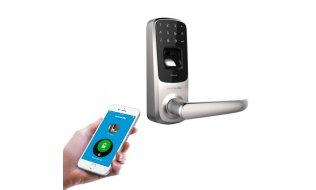 U-tec Ultraloq UL3 BT by Anviz deurslot met vingerafdruk lezer, Bluetooth 4.0 en PIN code voor binnen en buiten