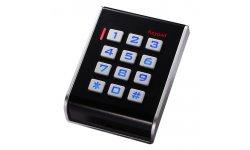 WL4 KPRO-3 stand alone toegangscontrole keypad, RFID kaartlezer, verlichting en geschikt voor binnen