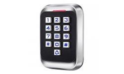 WL4 KPRO-4 stand alone toegangscontrole keypad, RFID kaartlezer, verlichting en deurbel geschikt voor buiten