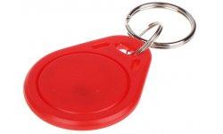 WL4 RFID tags rood met key ring (10 stuks)