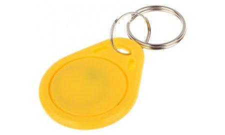WL4 RFID tags geel met key ring (10 stuks)