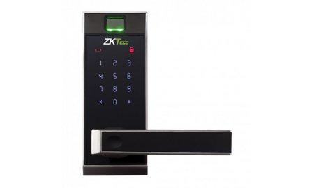 ZKTeco AL20DB smart deurslot met vingerafdruk lezer, Bluetooth, mobile app en PIN code voor binnen