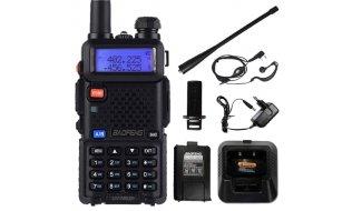 Baofeng UV-5RUP 8 Watt Dual band professionele portofoon met oortelefoon en oplaadstation
