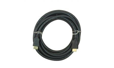 NanoCable HDMI kabel 5 meter High-speed met 100% koperen kern, goud vergulde afgeschermde connectors en Ethernet 1.4