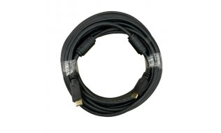 NanoCable HDMI kabel 10 meter High-speed met 100% koperen kern, ferriet filters, goud vergulde afgeschermde connectors en Ethernet 1.4