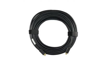 NanoCable HDMI kabel 25 meter High-speed met 100% koperen kern, repeater, goud vergulde afgeschermde connectors en Ethernet 1.4