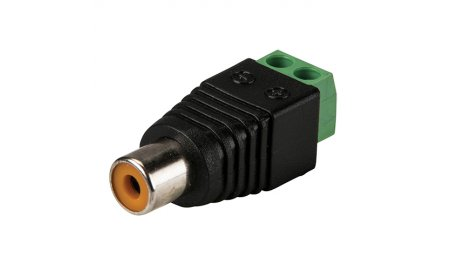 WL4 RCA connector vrouwelijk