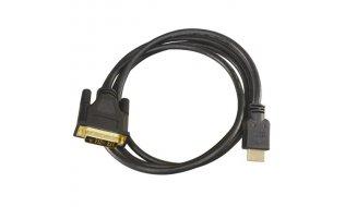 NanoCable HDMI DVI verloopkabel 1,8 meter met 100% koperen kern en goud vergulde afgeschermde connectors