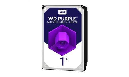 Western Digital WD10PURX Purple 1TB surveillance hard drive