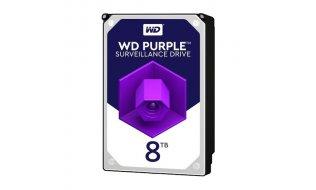 Western Digital WD80PURZ Purple 8TB surveillance hard drive