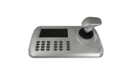 "WL4 KB1008N universele netwerk control PTZ keyboard met Full HD 5"" display, 3D joystick, RJ45, HDMI, USB"