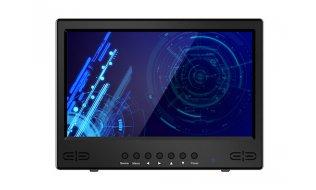 WL4 MNT-LED101-S 10.1 inch LED backlit monitor voor 24/7 videobewaking met 16:9 beeld, BNC, HDMI, VGA en luidsprekers