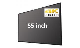 Safire SF-MNT55-4K 54.6 inch LED IPS UltraHD 4K CCTV bewakingsmonitor met 16:9 beeld, 2x HDMI, 2x USB en luidsprekers