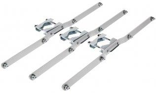 WL4 PB-SRWO5U-W paal montage set voor SRWO5U-W Aluminium kast
