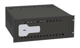 "Ollé VR-190 kluis met sleutelslot voor video recorders voor montage in 19"" rack"