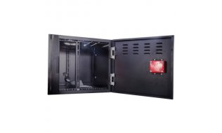 """WL4 LB6U zware metalen 6U lock box safe met sleutelslot voor rack 19"""" NVR en DVR video recorders"""