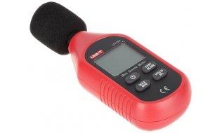 UNI-T UT353 geluid decibel meter met condensator microfoon en LCD display