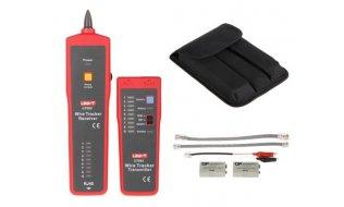 UNI-T UT682 kabelzoeker en kabeltester voor netwerkkabel, coax, telefoonkabel en voedingskabels door de isolatie