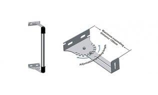 WL4 AIR-N6Z instelbare montagebeugels voor AIR-BI1001086 of AIR-BI30764 detector set