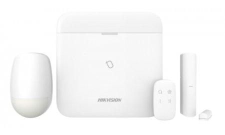 Hikvision DS-PWA96-Kit-WE AX PRO Alarm starterkit draadloos 868Mhz met kaartlezer, LAN, WiFi en 4G