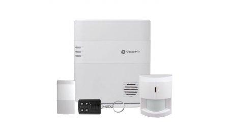 VESTA-001 KIT Grade 2 alarmsysteem met LAN, Z-Wave en 2G met bewegingsmelder, deur/raamcontact en afstandsbediening