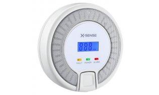 X-Sense CO03D koolmonoxide melder met LCD en 10 jaar levensduur  EN50291-1:2010