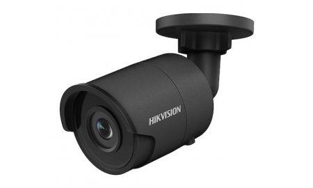 Hikvision DS-2CD2025FWD-I Black 2MP Darkfighter Full HD mini bullet buiten camera met 2.8mm lens, IR nachtzicht, PoE, 120dB WDR en microSD opname