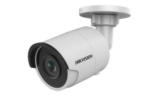 Hikvision DS-2CD2043G0-I 4MP Full HD mini bullet buiten camera met 2.8mm lens, IR nachtzicht, PoE, 120dB WDR en microSD opname