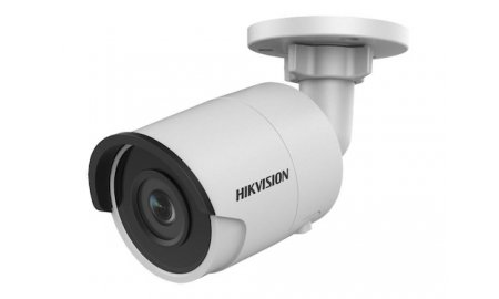 Hikvision DS-2CD2043G0-I 4MP Full HD mini bullet buiten camera met 6mm lens, IR nachtzicht, PoE, 120dB WDR en microSD opname