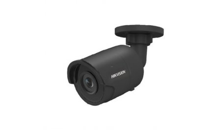 Hikvision DS-2CD2043G0-I Black 4MP Full HD mini bullet buiten camera met 2.8mm lens, IR nachtzicht, PoE, 120dB WDR en microSD opname