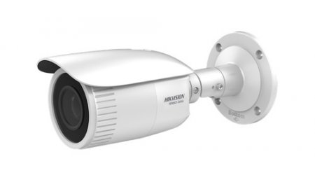 Hikvision HWI-B640H-Z HiWatch Full HD 4MP buiten bullet met IR nachtzicht, gemotoriseerde varifocale lens, microSD, 120dB WDR en PoE