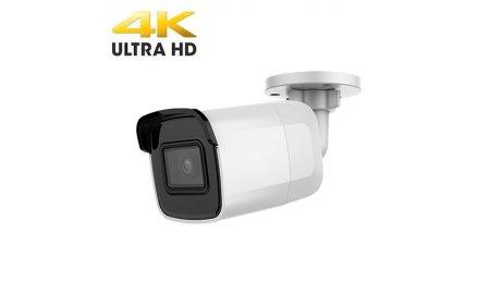 Safire SF-IPCV037UWH-8 Ultra HD 4K 8MP buiten bullet met IR nachtzicht, 120dB WDR, PoE en microSD