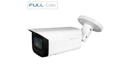 X-Security XS-IPCV830CAWH-2-EPOE Full HD 2MP Full-Color Starlight buiten bullet met ePOE, H.265 en 120dB WDR